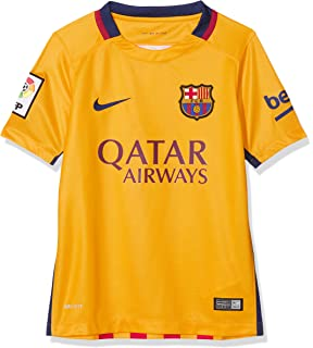 Nike FC Barcelona Away Stadium - Camiseta de Mangas Cortas para ... 42cfd96e60b