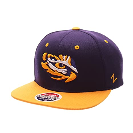 Image Unavailable. Image not available for. Color  ZHATS NCAA LSU Tigers  Men s Z11 Snapback Hat ... 54e73e32e64c