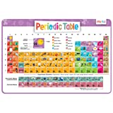 Kids Periodic Table of Elements with beautiful images representing each element - Educational Kids Placemat - Non Slip Washable