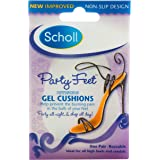 Scholl Party Feet Invisible Gel Cushions Shoe Insert Comfort and Cushioning, 1 Count