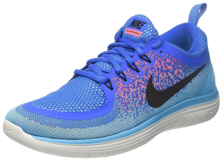 TALLA 42 EU. Nike Free RN Distance 2, Zapatillas de Running para Hombre