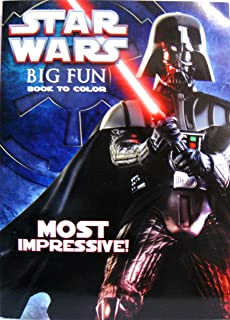 Amazon Com Star Wars Big Fun Book To Color The Empire Begins By