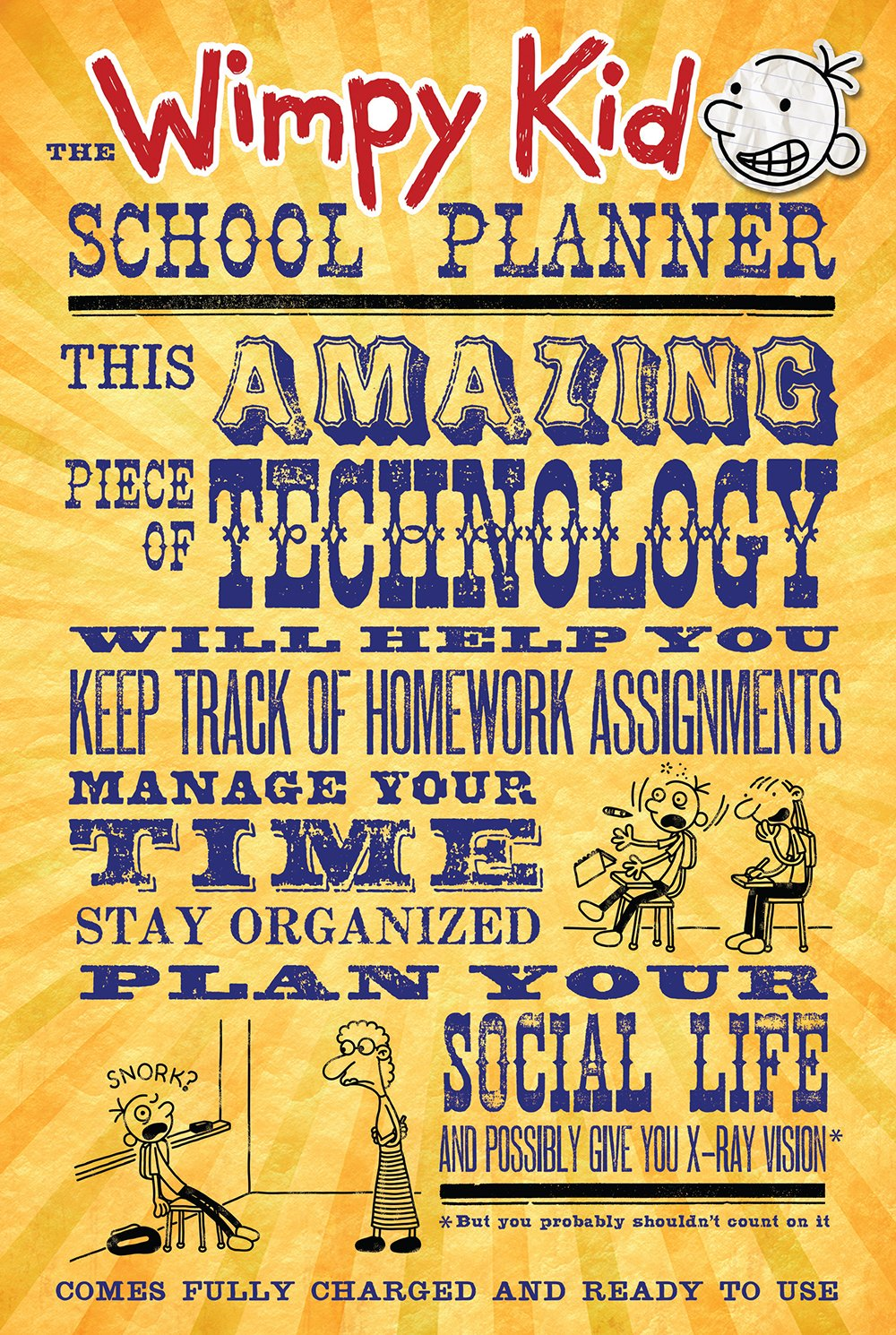 The Wimpy Kid School Planner (Diary of a Wimpy Kid)