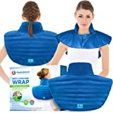 Microwavable Large Neck and Shoulder Wrap - Instant Relief for Muscle Pain, Tension and Stress, Stiffness, Arthritis…