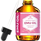 Emu Oil by Leven Rose, 100% Pure Natural Hair Strengthener Scar Minimizer Anti Aging Skin Moisturizer 4 oz
