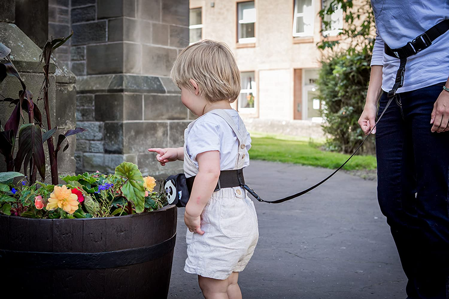 Adventure Belt: the handsfree child rein Suitable up to 27KG. Purple//Pink Links adult /& child belt to belt keeping kids safe in challenging situations
