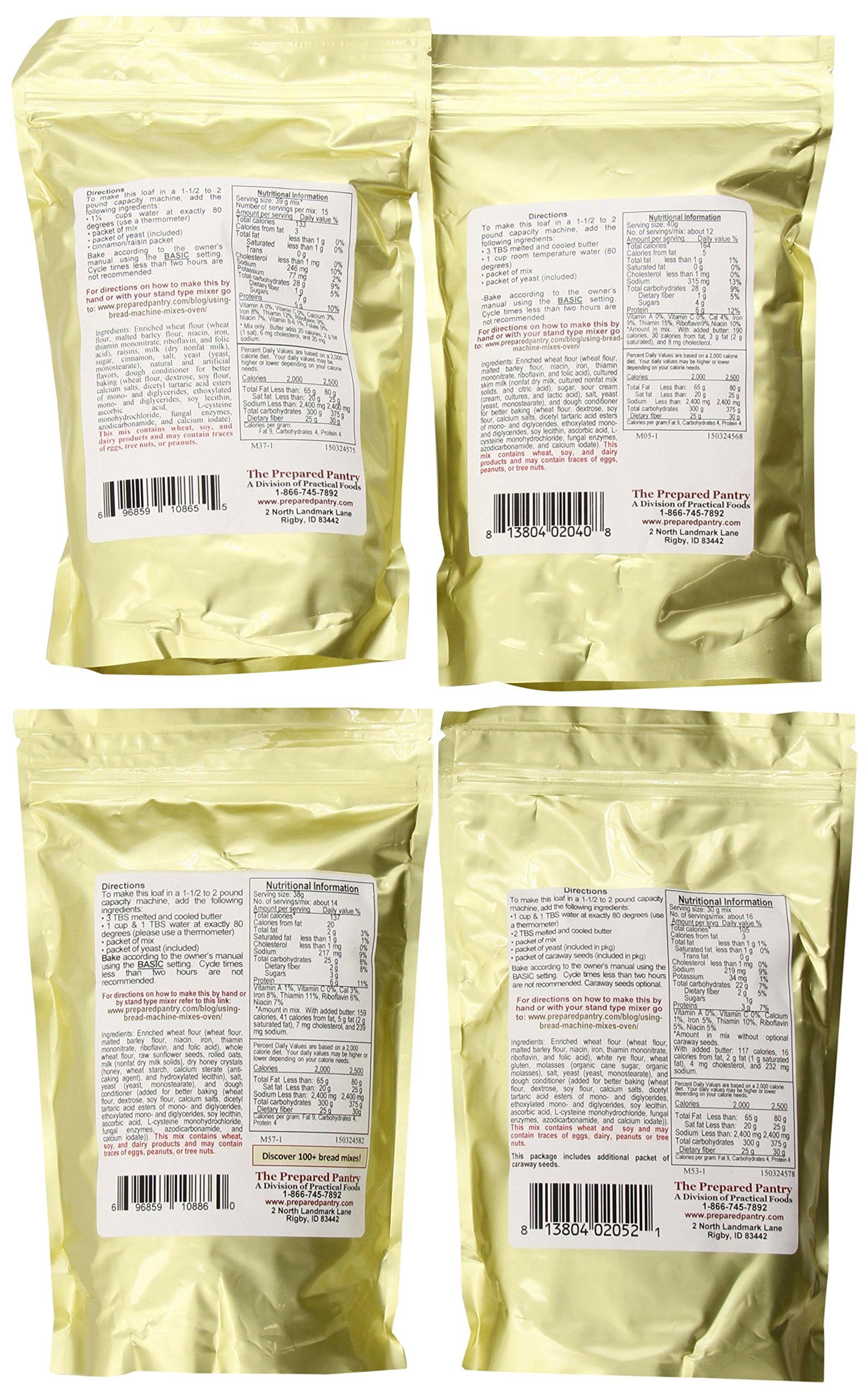The Prepared Pantry Weekend Collection, 75.6 Ounce by The Prepared Pantry (Image #2)