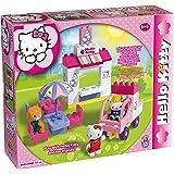 COSTRUZIONE Unico Hello Kitty-Gelateria 43pz 8654