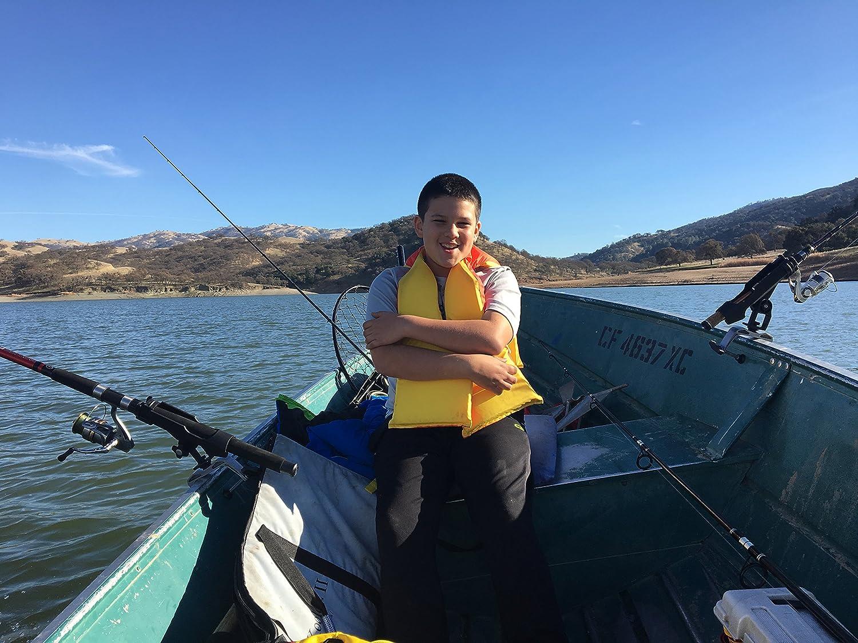 PLUSINNO Barco de Pesca ca/ñas Titular con Gran Abertura de la Abrazadera Ajustable 360 Grados Pesca Rod Holder Bastidores Plegables 1 Pieza