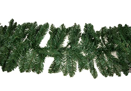 Christmas Pine Garland.Clever Creations Christmas Pine Branch Garland Festive Holiday Decor Realistic Pine Branches Poseable Artificial Pine Needles Classic Christmas
