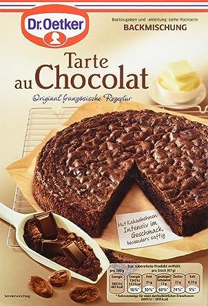 Dr Oetker Tarte Au Chocolat 4er Pack 4 X 470 G Amazon De