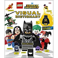 LEGO DC Comics Super Heroes Visual Dictionary: With Exclusive Yellow Lantern Batman Minifigure