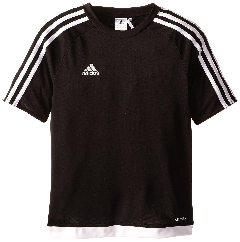 adidas black soccer jersey