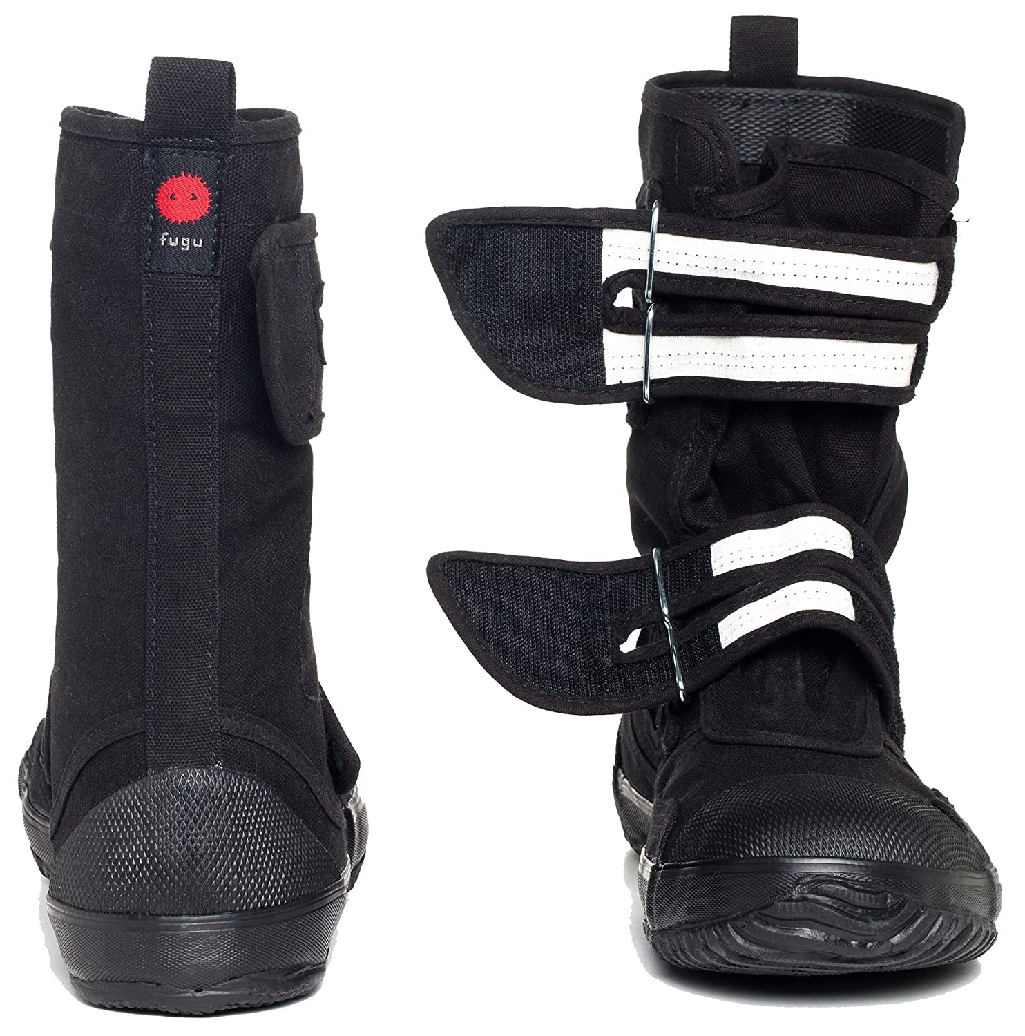 fugu Sa-Me Japanese Vegan with Boots, Eco-Friendly Mid-Calf Boots with Vegan Rubber Sole B01524RZNI USW 8.5 - 9 JP25|Black 12d5f5