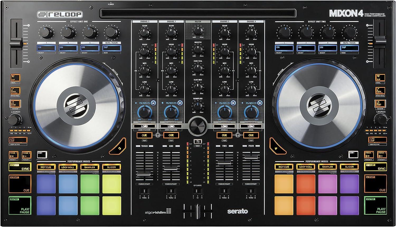 Reloop 236534 Controller | Reloop Mixon 4 Controller | Reloop Mixon 4 Hybrid Serato DJ Controller 4 Channel