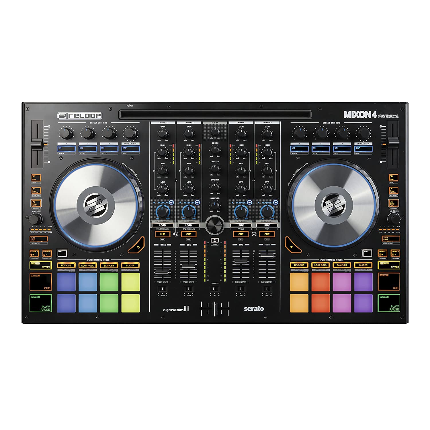 Reloop Mixon 4 High Performance 4-Channel Hybrid DJ Controller Black Friday Deals 2020
