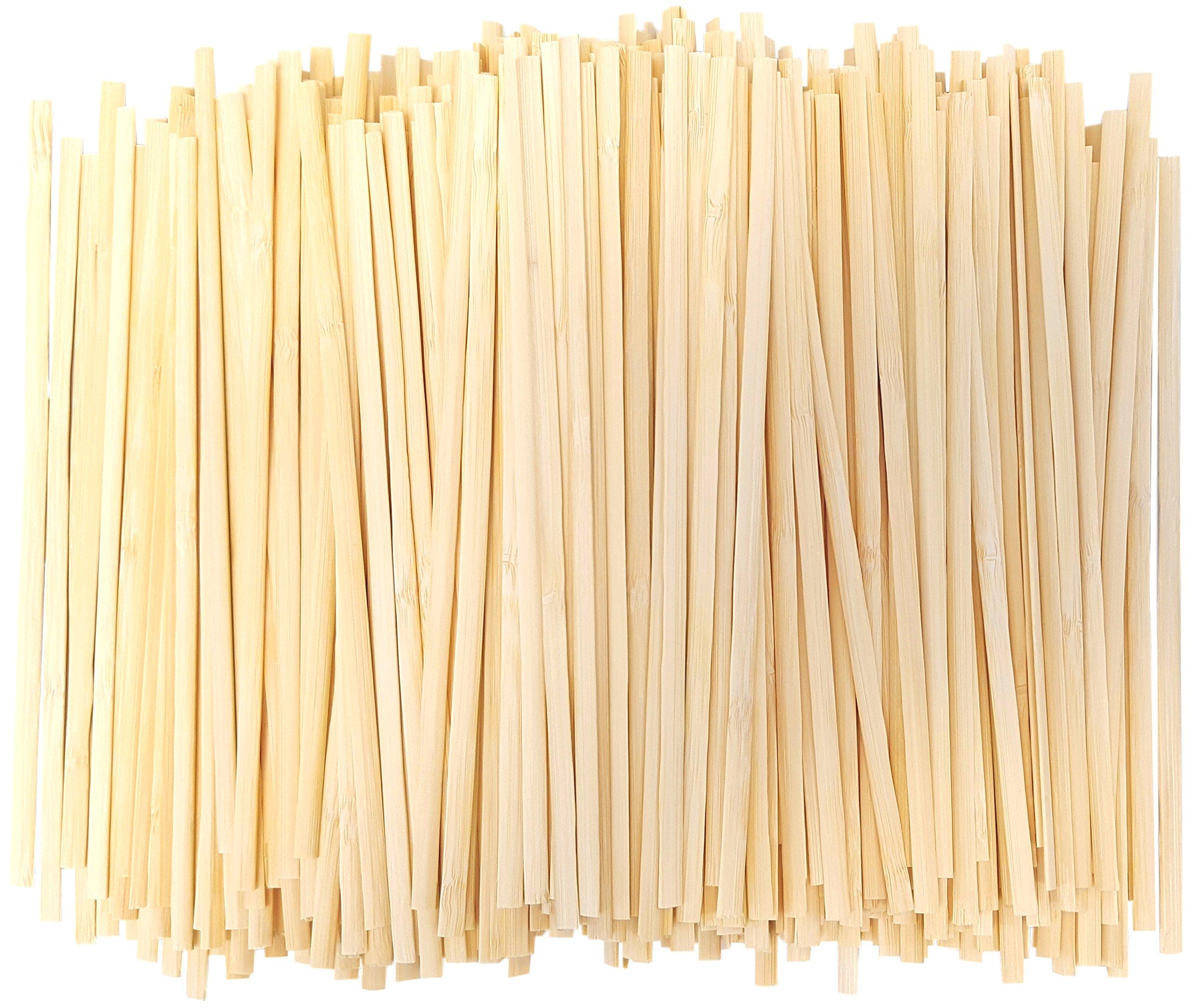 Bamboo Coffee Stir Sticks (1,000, 7 Inch)