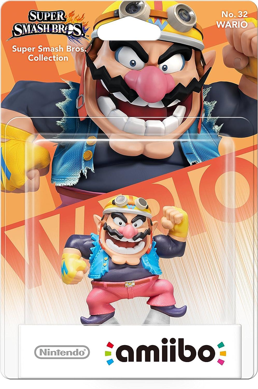 Nintendo - Figura Amiibo, Colección Super Smash Bros, Wario: Amazon.es: Videojuegos