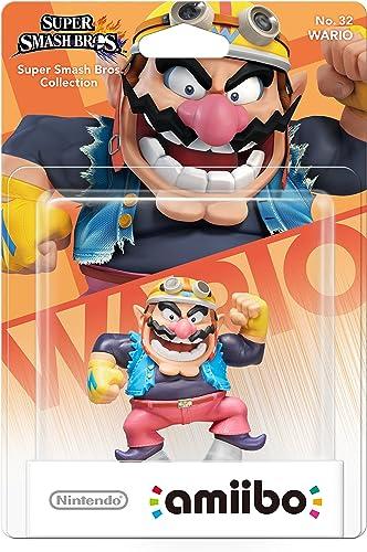 Nintendo - Figura Amiibo, Colección Super Smash Bros, Wario ...