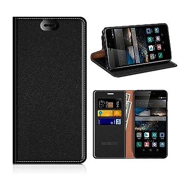 MOBESV Funda Cartera Huawei P8, Funda Cuero Movil Huawei P8 ...