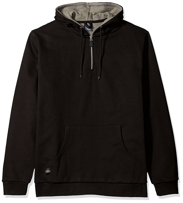 Reg /& Ext Sizes Charles River Apparel Mens Tradesman Thermal Quarter Zip Sweatshirt