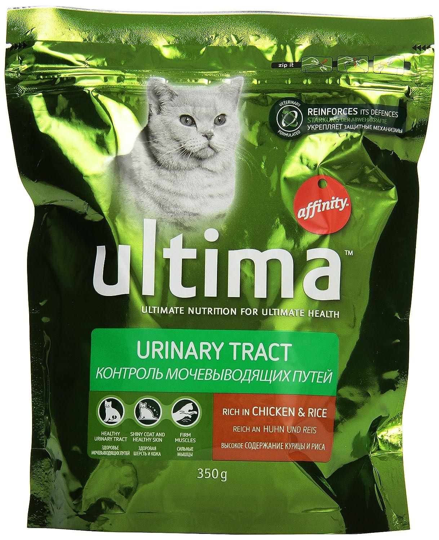 Ultima - Tracción urinaria para Gatos de Adultos, 350 g, 6 ...