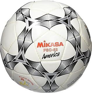 Mikasa FSC-62M FCF Ballon de Futsal Mixte Adulte, Blanc/Noir, 64 cm