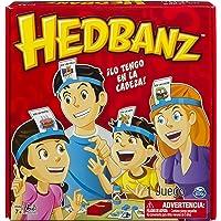 Spin Master Juego de Mesa HedBanz Familia, Nueva Version