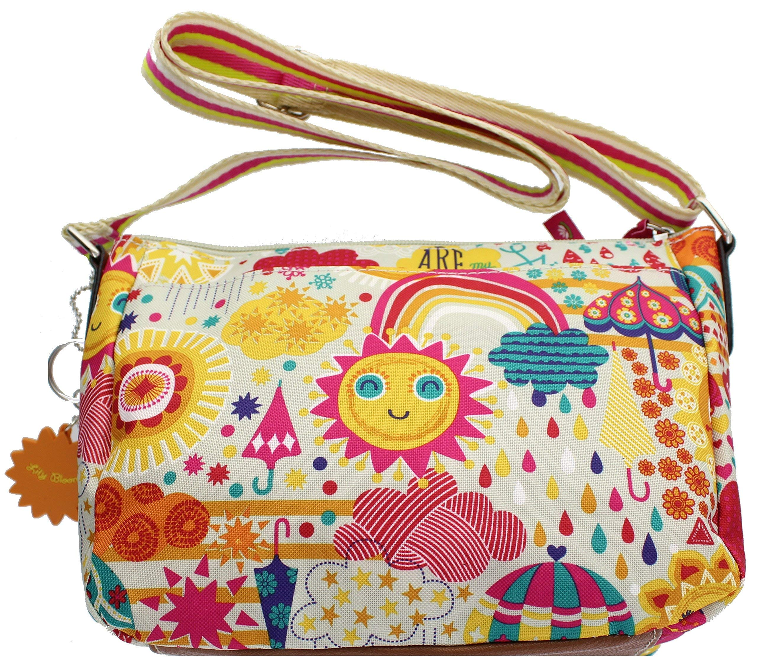 Lily Bloom Cristina Crossbody Bag (SPRING SHOWERS) by Lily Bloom