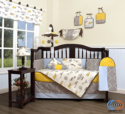 Boutique Baby Air Show Baby Bedding Collection