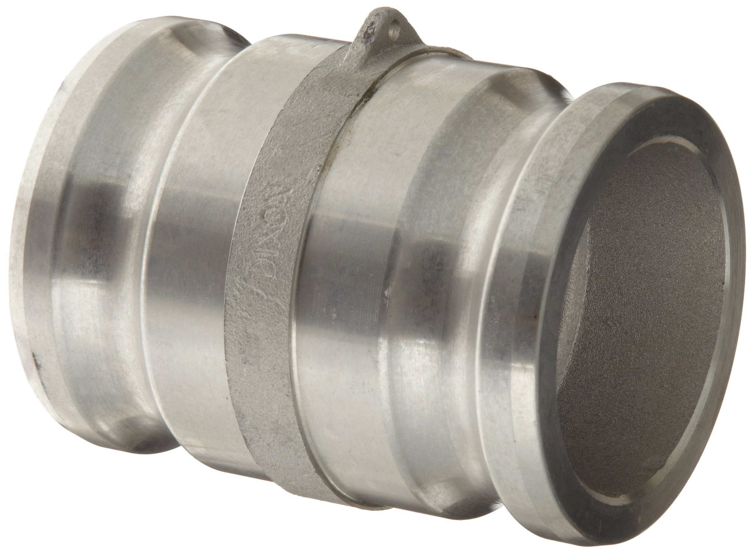 Dixon 300-AA-AL Aluminum Cam and Groove Hose Fitting, Spool Adapter, 3'' Plug by Dixon Valve & Coupling (Image #1)