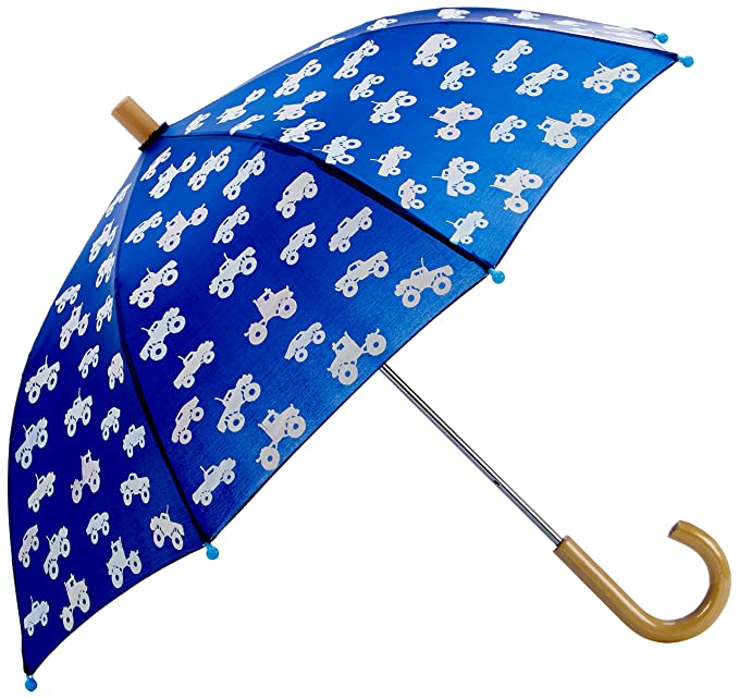 Hatley Printed Umbrellas, Paraguas para Niños, Azul (Colour Changing Monster Trucks), Talla única: Amazon.es: Ropa y accesorios