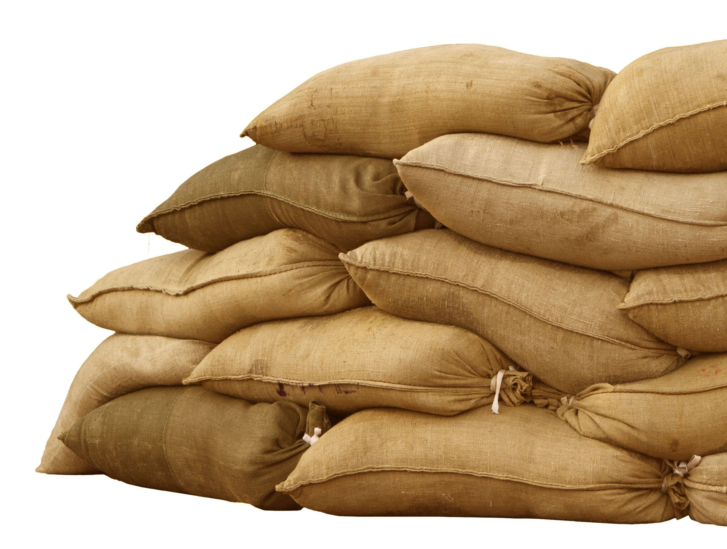 Sandbaggy Burlap Sand Bag - Size: 14'' x 26'' - Sandbags - 100% Biodegradable - Sandbags for Flooding - Sand Bag - Flood Water Barrier - Water Curb - Tent Sandbags - Store Bags (1000 Bags) by Sandbaggy