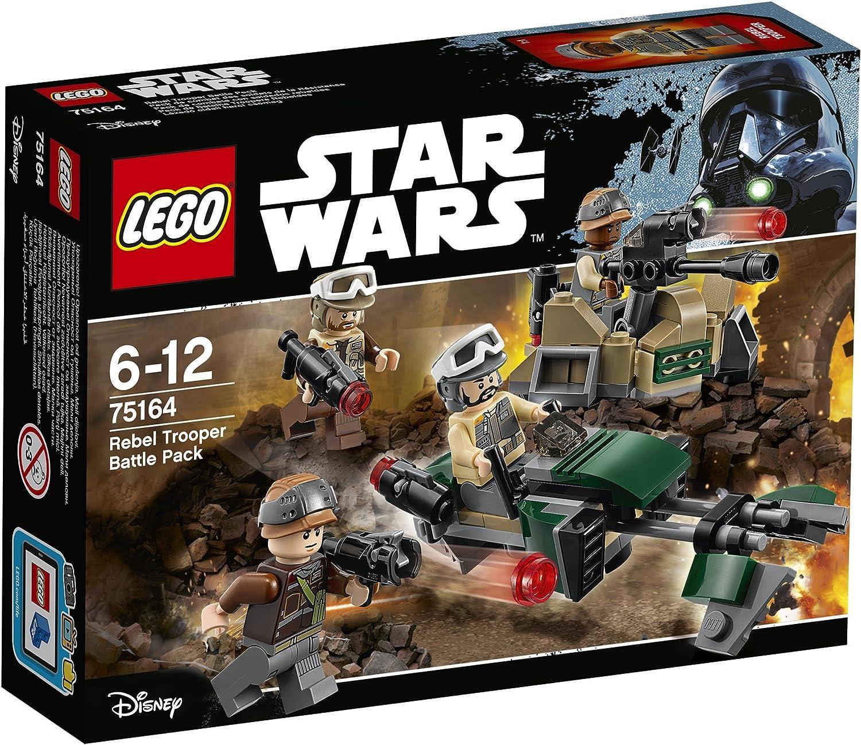 LEGO STAR WARS - Pack de Combate con Soldados Rebeldes (75164 ...