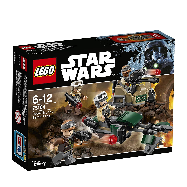 LEGO Star Wars Pack de combate con soldados rebeldes
