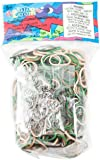 Rainbow Loom Camo Rubber Bands with 24 C-Clips (600 Count)