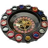 Ruleta de 16 vasos de chupito para juego de beber