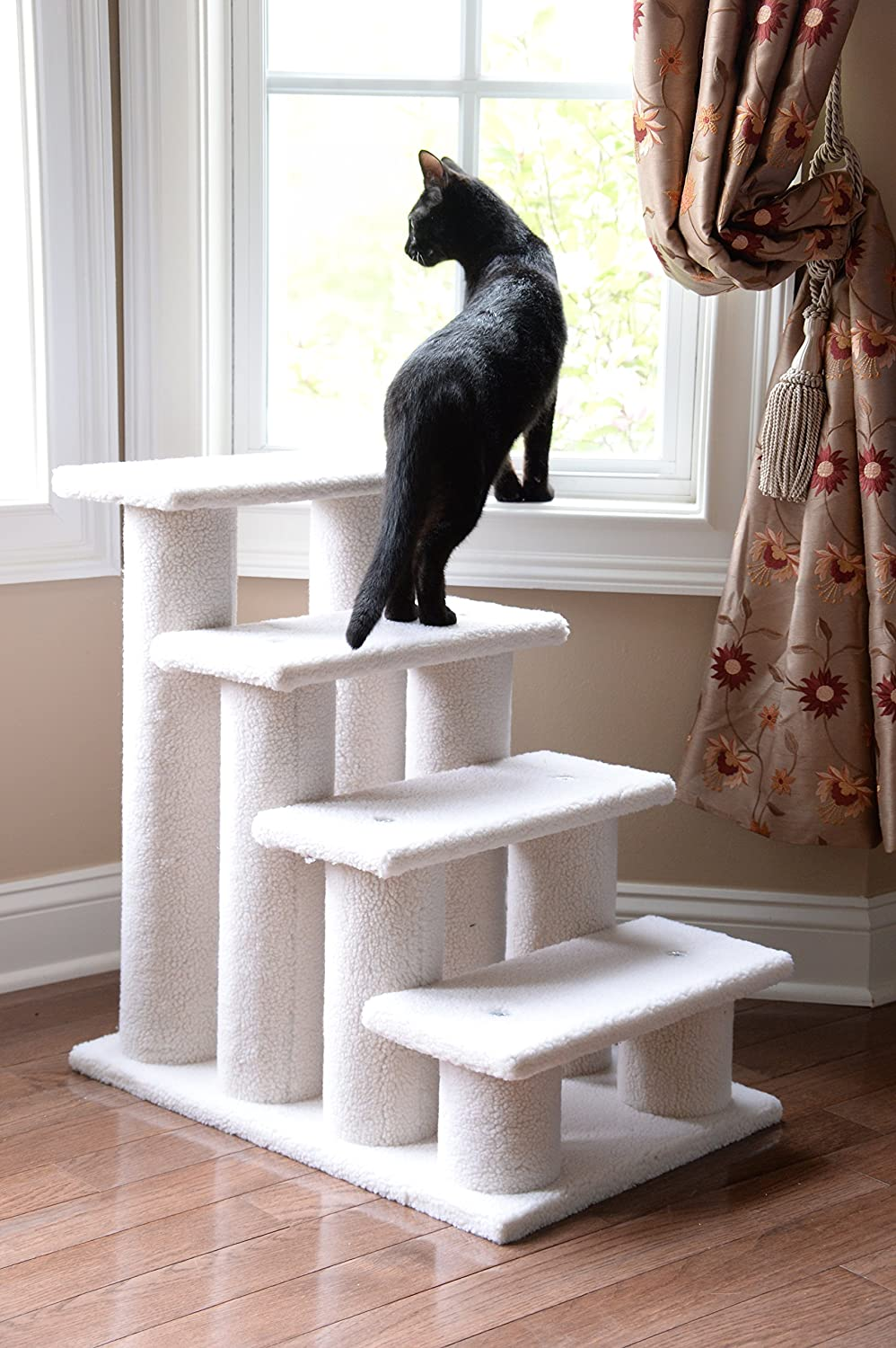Armarkat Pet Steps Stairs Ramp for Cats and Dogs