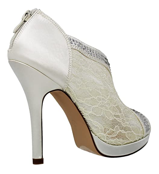 b7ebc4700c Amazon.com | MVE Shoes Women's Closed Thin Heel with Mesh Fabric |  Platforms & Wedges