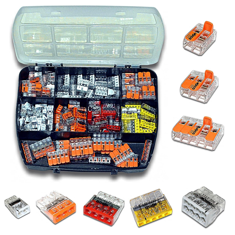 Unterschiedlich WAGO Klemme (100 Stück) Set Sortiment Serie Compact 221-412 | 221  SD99