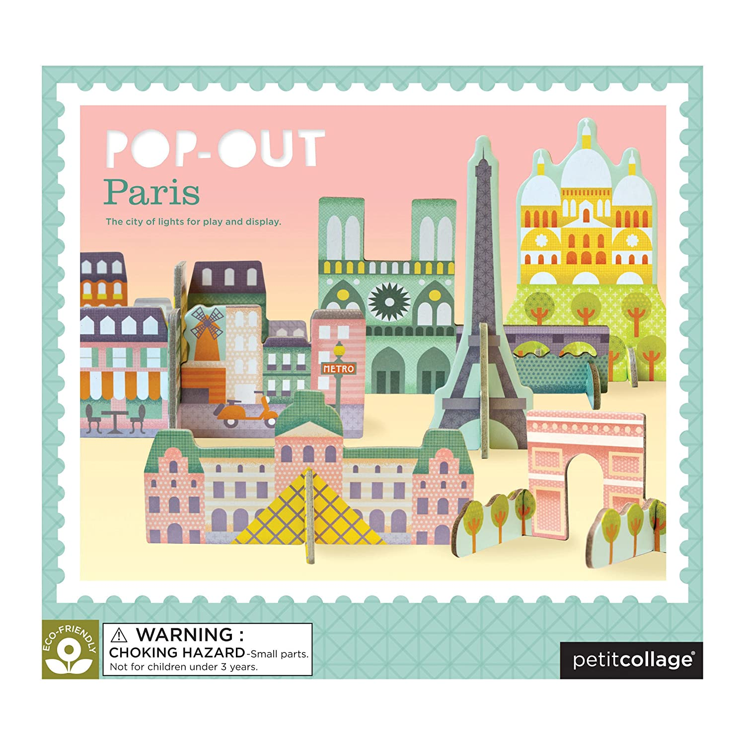Paris Pop-Out Puzzle Wild and Wolf PTC117