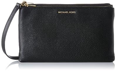 c5e46084568a ... sale michael kors womens adele cross body bag black black a2060 ac75d