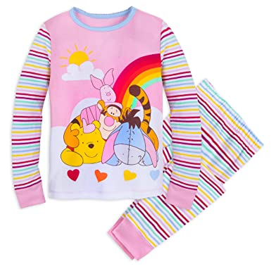 733acc59d40e Amazon.com  Disney Winnie The Pooh and Pals PJ PALS Set for Girls ...