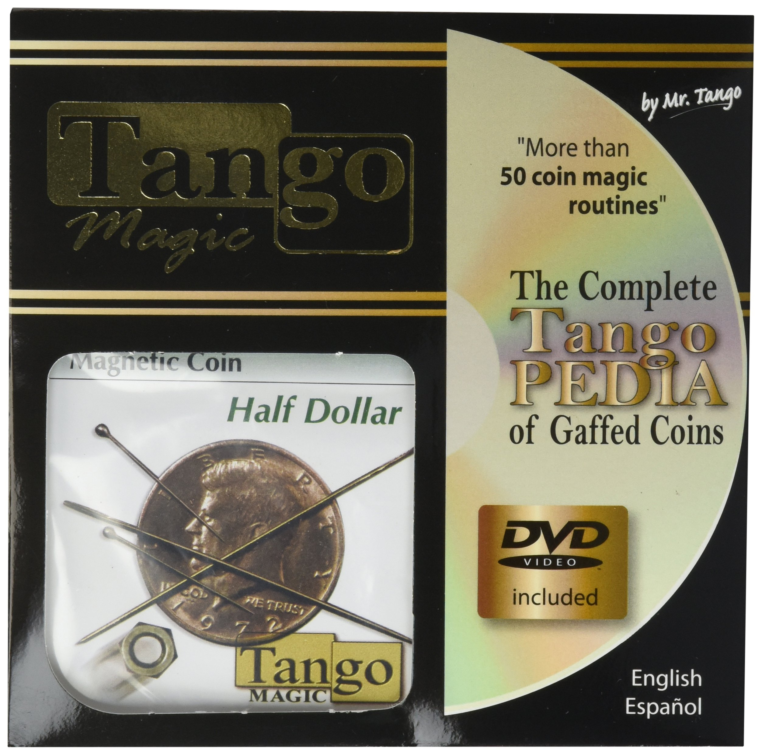 MMS Magnetic Half Dollar Coin (with DVD)(D0025) by MMS