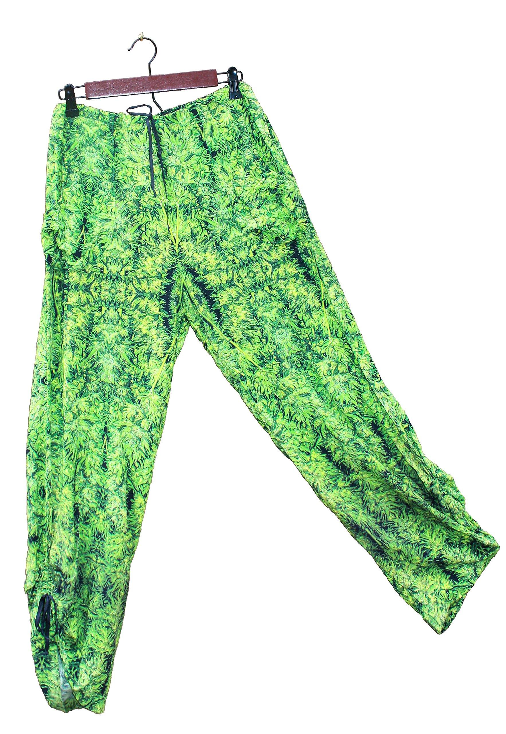 Hawaiian Floral Harem Pants Amnesia Kush Wedding Resort Beachwear XL/XXL
