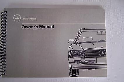 amazon com 1989 mercedes owners manual 560sl 1988 1987 1986 rh amazon com 1986 mercedes 560sl repair manual 1989 mercedes 560sl repair manual