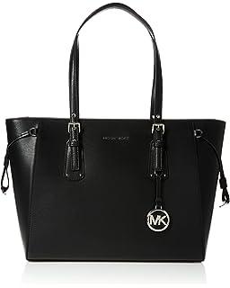 : Michael Kors Karson LG Carryall Tote Leather
