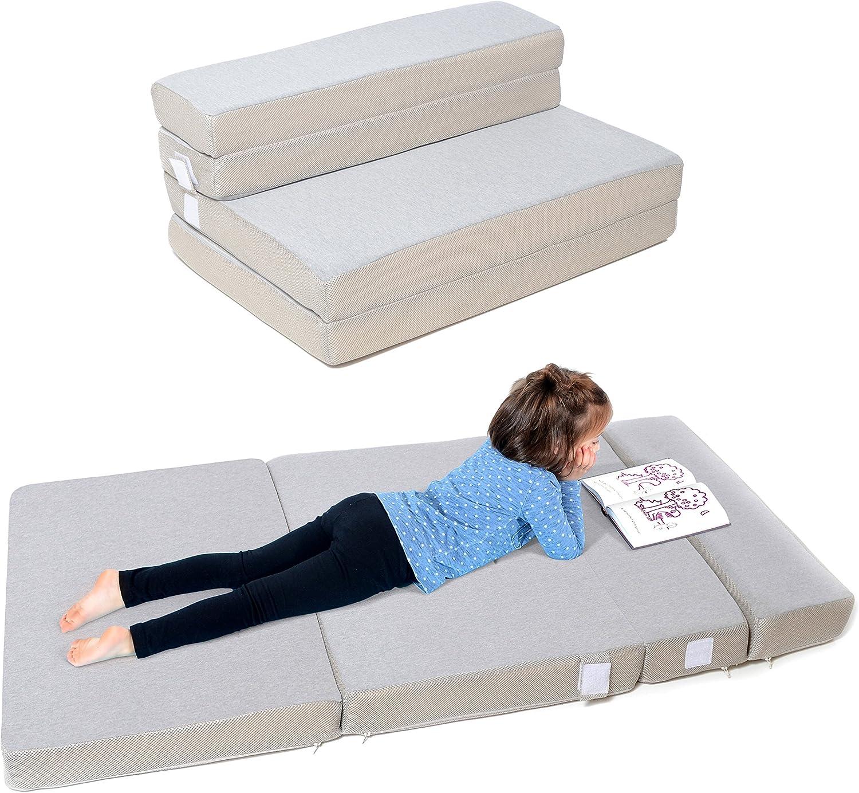 - Amazon.com: Milliard Toddler Nap Mat Sofa Bed, Tri Folding
