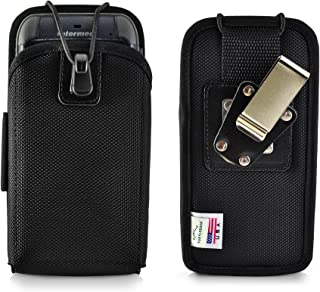 """product image for Turtleback Mobile Computer Case Made for Intermec CN70 Touch Computer Nylon Holster, 2 Belt Clips (Metal Clip & Belt Loop) Mobile Scanner Holder Fits Devices 6 3/4"""" X 3 1/4"""" X 1 1/2"""""""