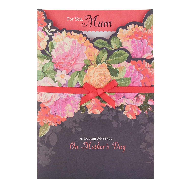 Hallmark 25476136 Mum Mothers Day Card Loving Message Large